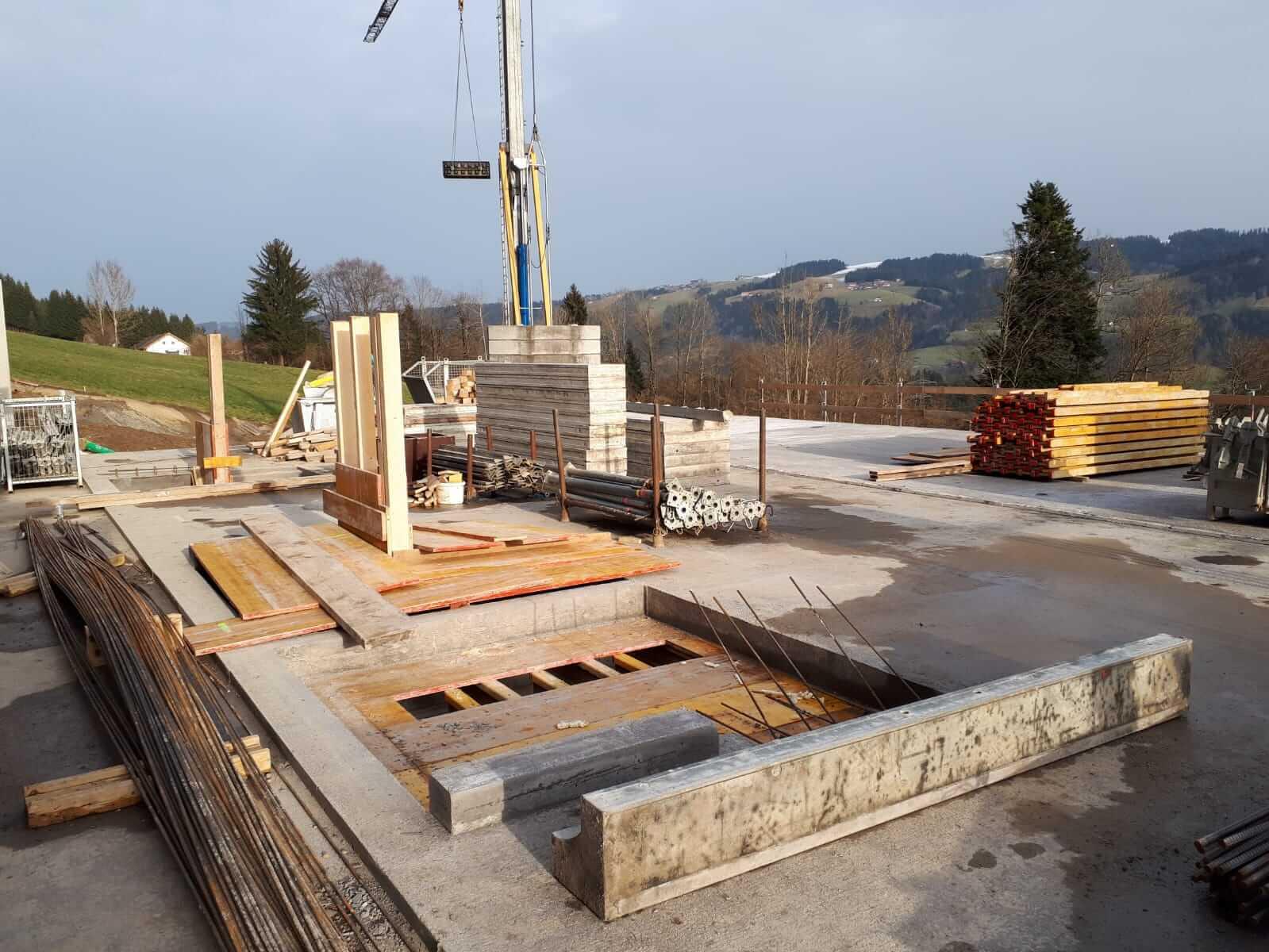 Baustelle Langen